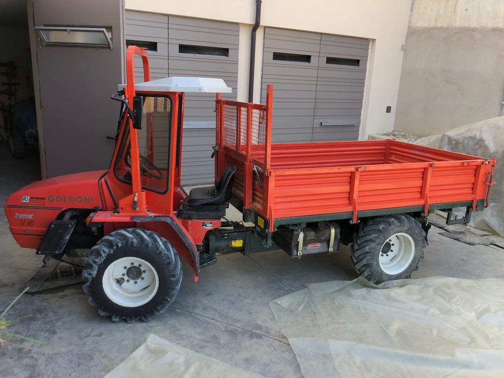 Goldoni Transcar 40 Sincro Usato Robino Macchine Per L Agricoltura